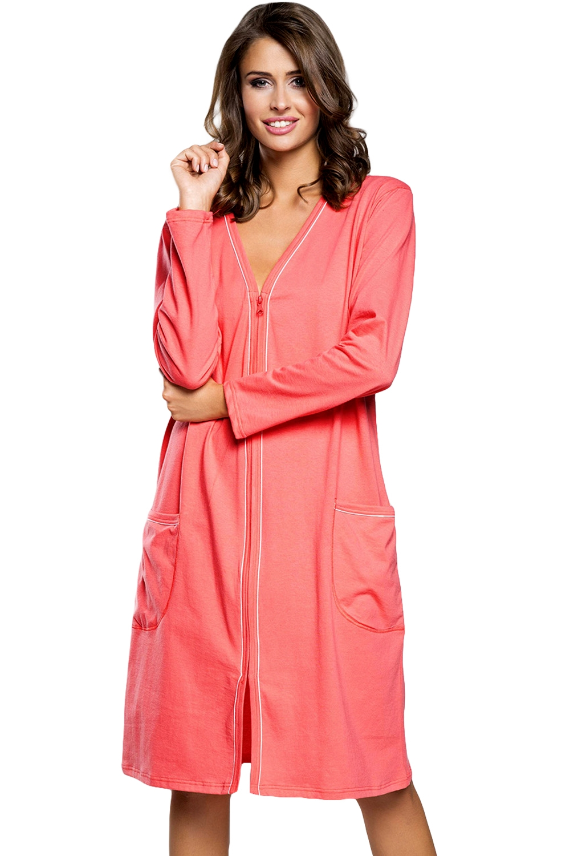 Dámský župan Italian Fashion Damia raspberry