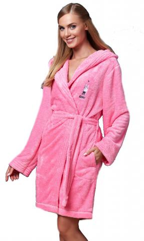 Dámský župan L&L BB 7108 pink