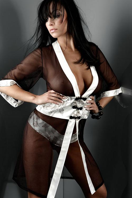 Dámský župan Livia Corsetti Aisha Dressing Gowns