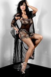 Dámský župan Livia Corsetti Hera Dressing Gown