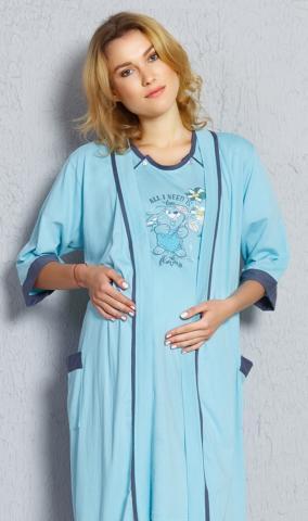 Dámský župan s mateřskou košilí Vienetta Secret Malý zajíc