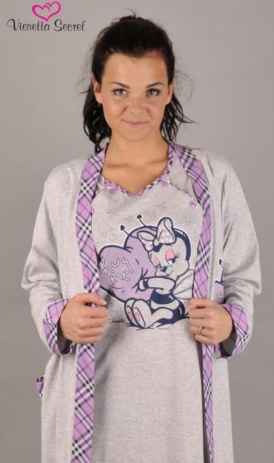 Dámský župan s mateřskou košilí Vienetta Secret Včelička výprodej