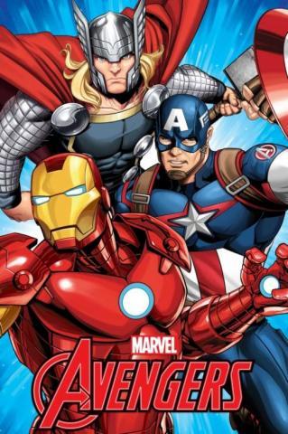 Dětská fleecová deka Avengers