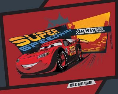 Dětská fleecová deka Cars comics