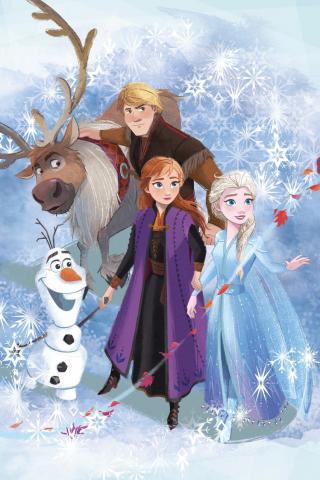 Dětská fleecová deka Frozen 2