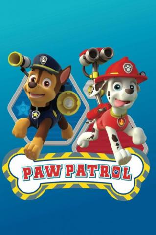 Dětská fleecová deka Paw Patrol