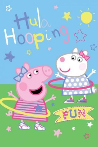 Dětská fleecová deka Peppa Pig