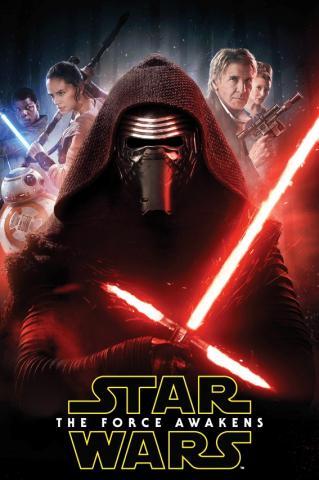 Dětská fleecová deka Star Wars The Force Awakens