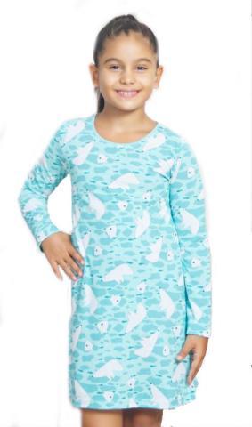 Dětská noční košile s dlouhým rukávem Vienetta Secret Medvědi