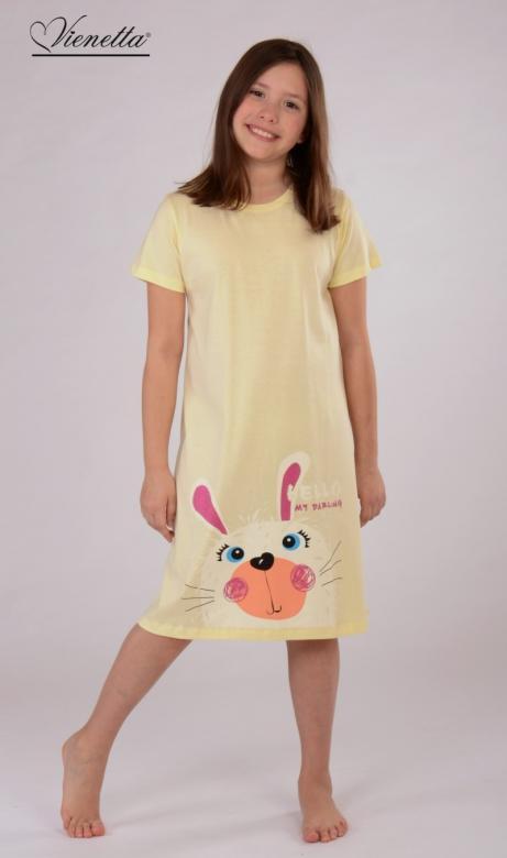 Dětská noční košile s krátkým rukávem Vienetta Secret Hello