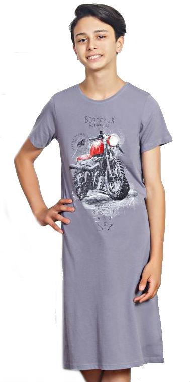 Dětská noční košile s krátkým rukávem Vienetta Secret Motorka