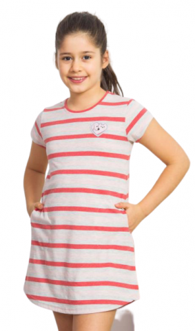 Dětská noční košile s krátkým rukávem Vienetta Secret Gabriela