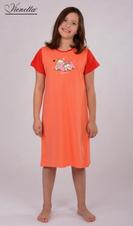 Dětská noční košile s krátkým rukávem Vienetta Secret Slon