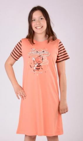 Dětská noční košile s krátkým rukávem Vienetta Secrete Včela