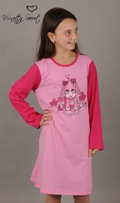 Dětská noční košile Vienetta Secret (dl.rukáv) - Telátko