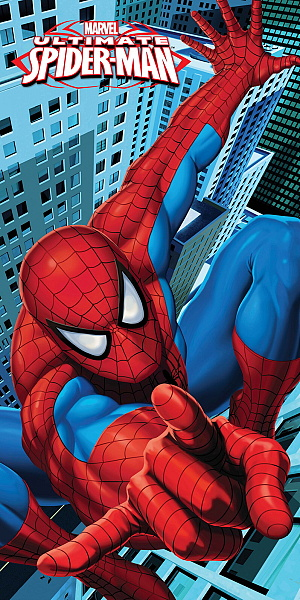 Dětská osuška Disney - Spiderman 2013 - 75x150 cm