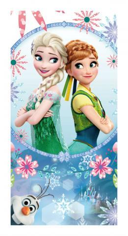 Dětská osuška Jerry Fabrics Frozen blue sisters