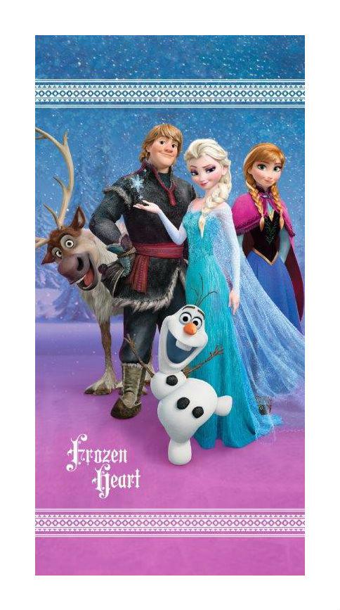 Dětská osuška Jerry Fabrics Frozen heart