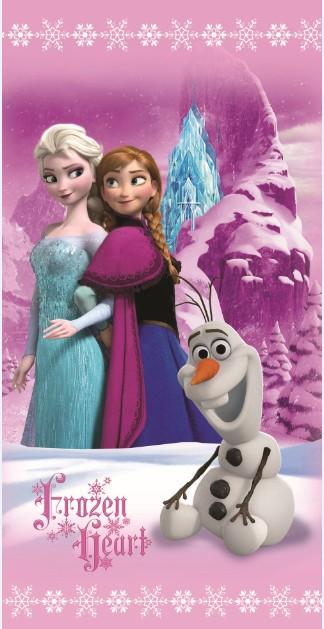 Dětská osuška Jerry Fabrics Frozen pinkie trio