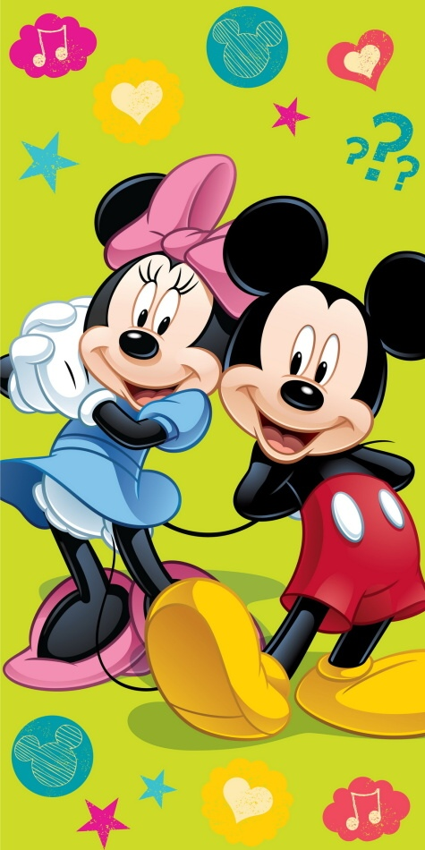 Dětská osuška Jerry Fabrics Mickey and Minnie 2015