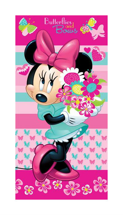 Dětská osuška Jerry Fabrics Minnie Flower