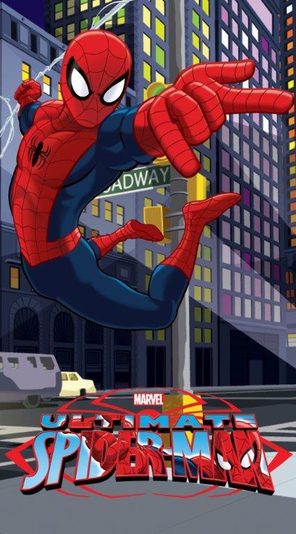Dětská osuška Jerry Fabrics Spiderman 2015