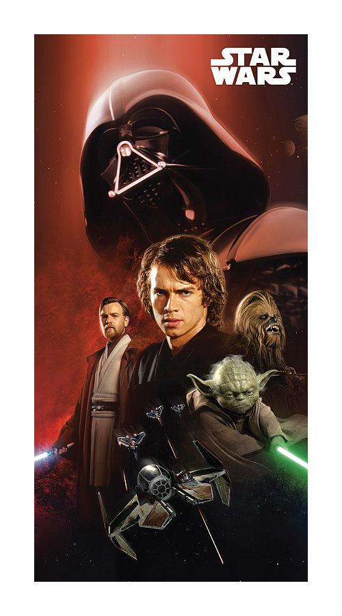 Dětská osuška Jerry Fabrics Star Wars 01