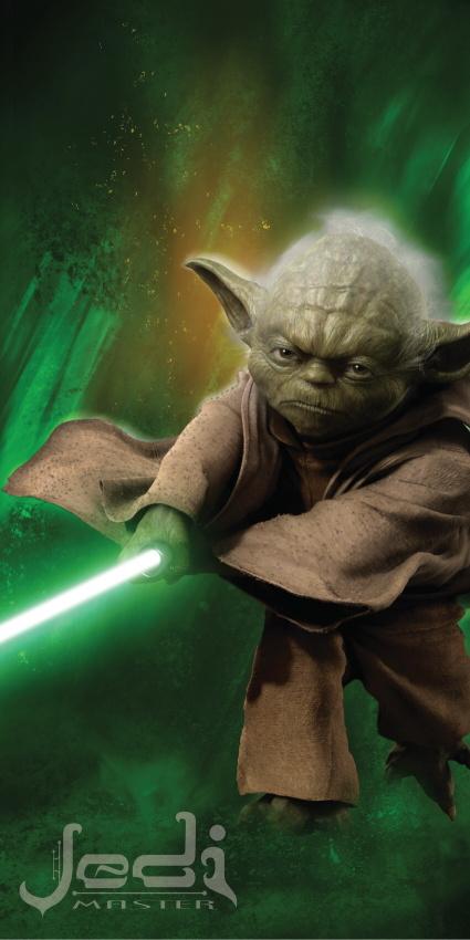 Dětská osuška Jerry Fabrics Star Wars Yoda