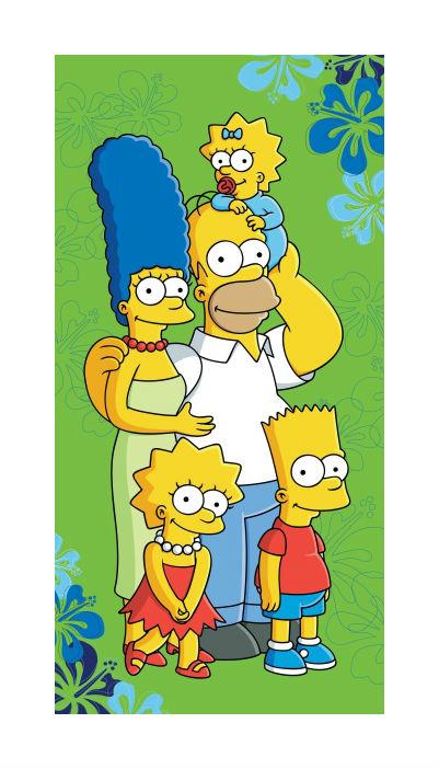Dětská osuška Simpsons 2016