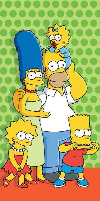 Dětská osuška Simpsons dot 2015
