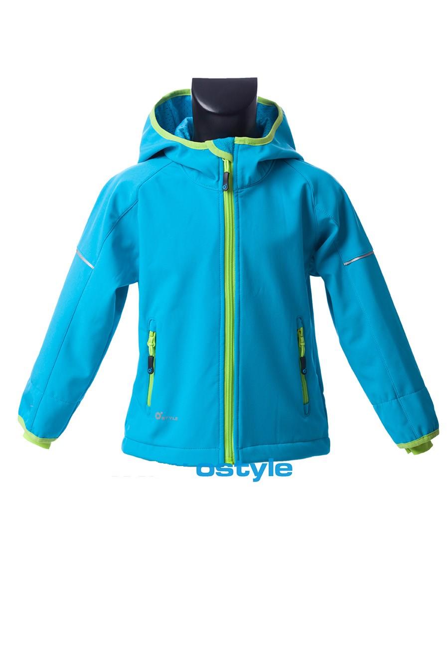 Dětská softshellová bunda O´Style 5329 blue