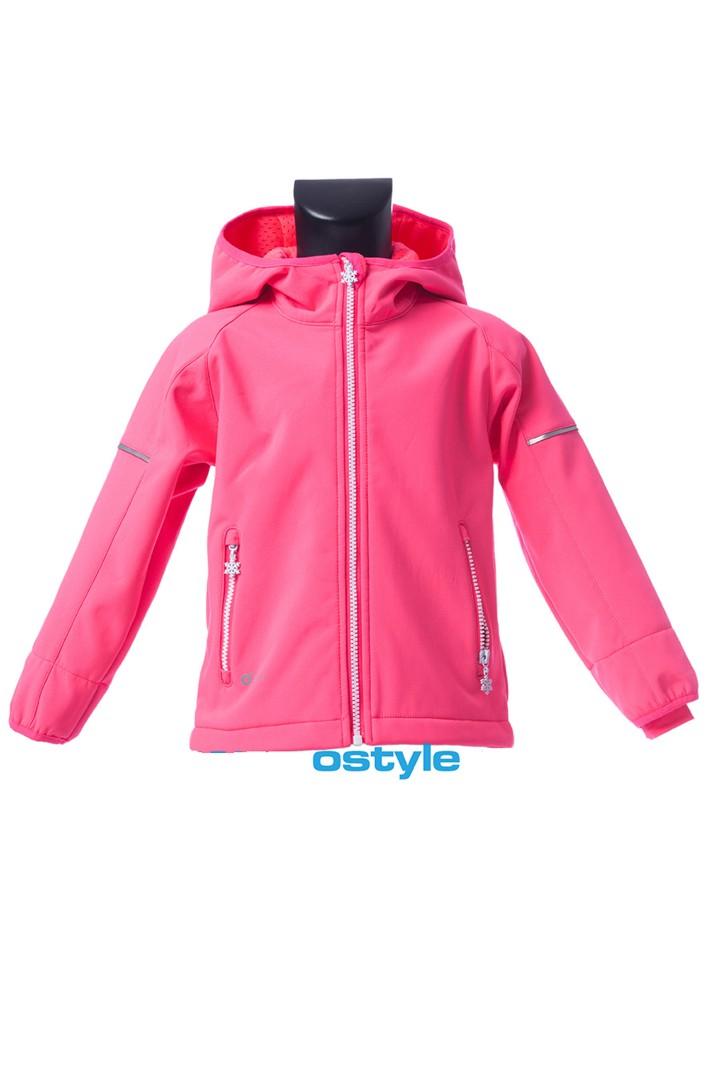 Dětská softshellová bunda O´Style 5329 pink