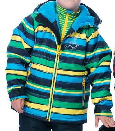 Dětská zateplená bunda O´Style 8223
