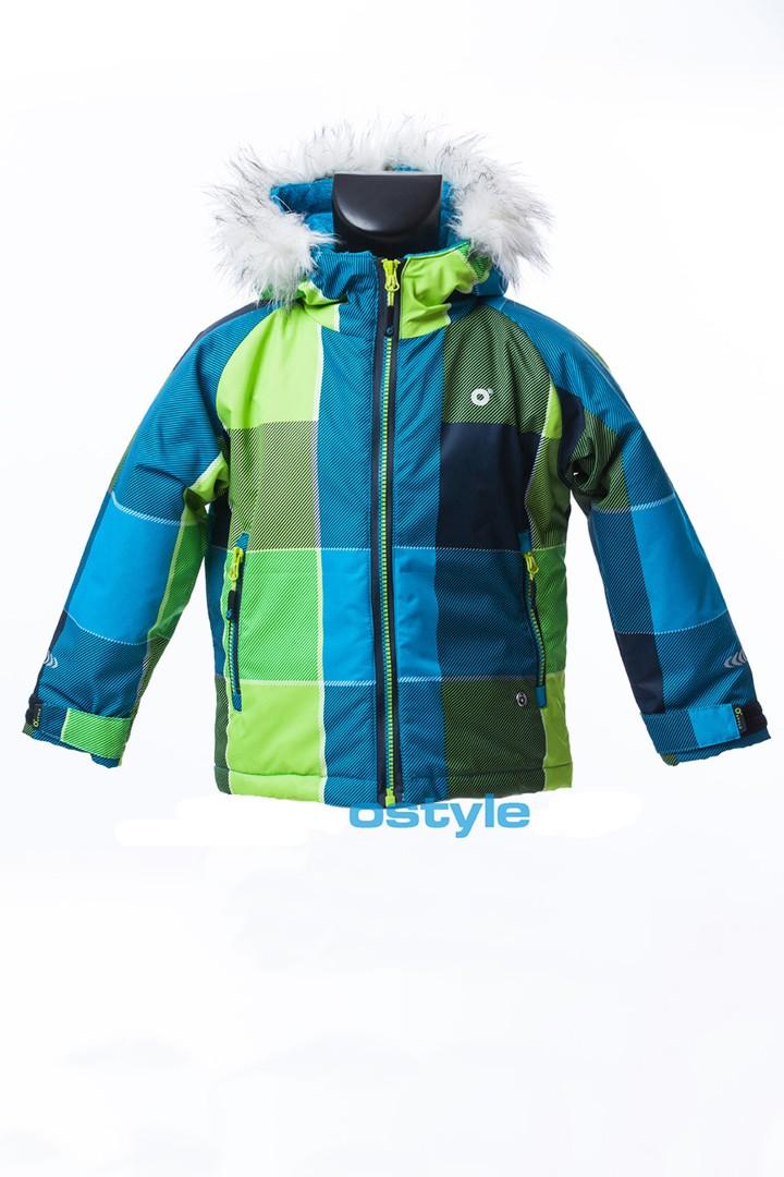 Dětská zimní bunda O´Style 8146 check
