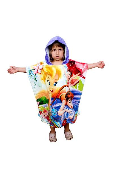 Dětské bavlněné pončo - Fairies