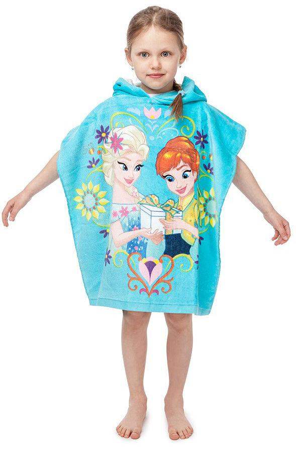 Dětské bavlněné pončo Frozen 2016