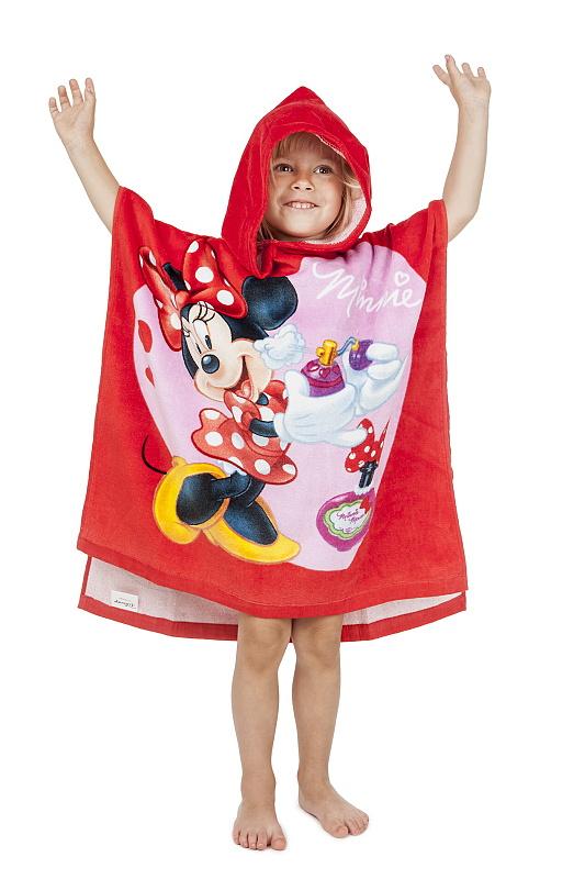 Dětské bavlněné pončo Minnie 2014