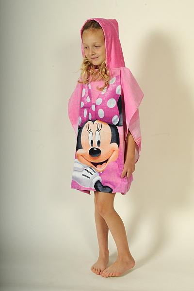Dětské bavlněné pončo - Minnie