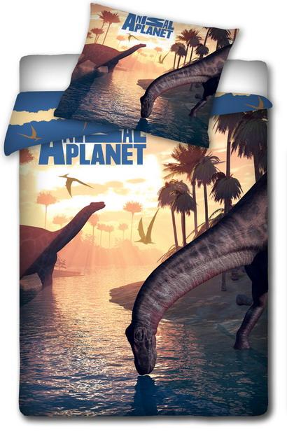 Dětské bavlněné povlečení - ANIMAL PLANET - Dinosaurus