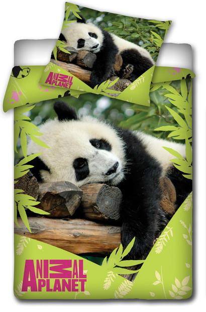 Dětské bavlněné povlečení - ANIMAL PLANET - Panda