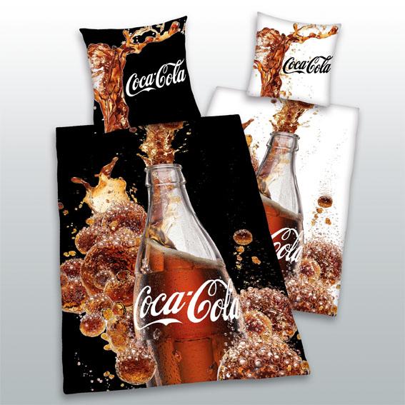 Dětské bavlněné povlečení - Coca Cola láhev
