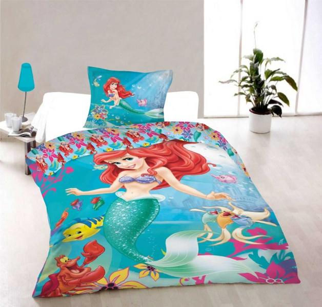 Dětské bavlněné povlečení Disney - Ariel