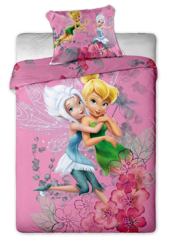 Dětské bavlněné povlečení Disney Fairies purple