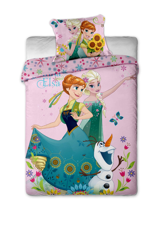 Dětské bavlněné povlečení Disney Frozen sweet pink