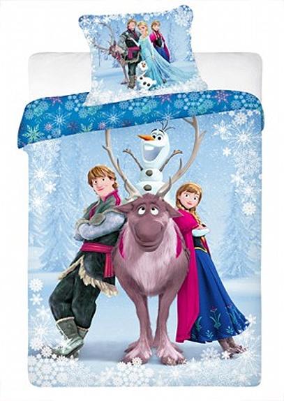 Dětské bavlněné povlečení Disney Frozen