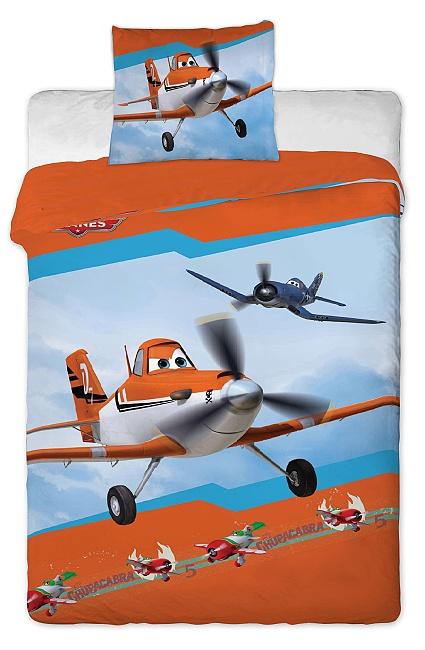 Dětské bavlněné povlečení Disney - Letadla 2013