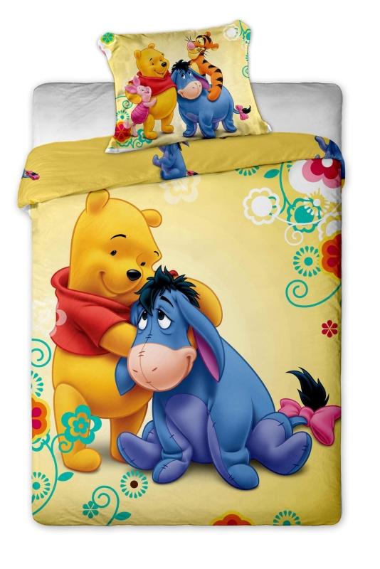 Dětské bavlněné povlečení Disney Medvídek Pů 2015
