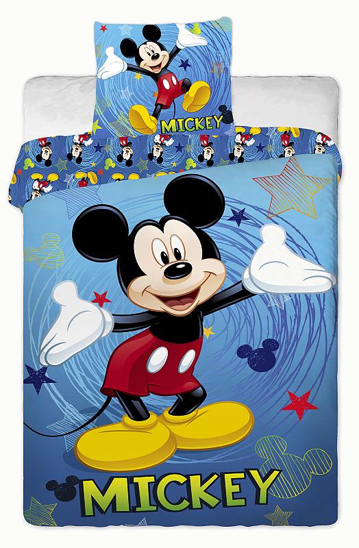 Dětské bavlněné povlečení Disney Mickey 2014 blue