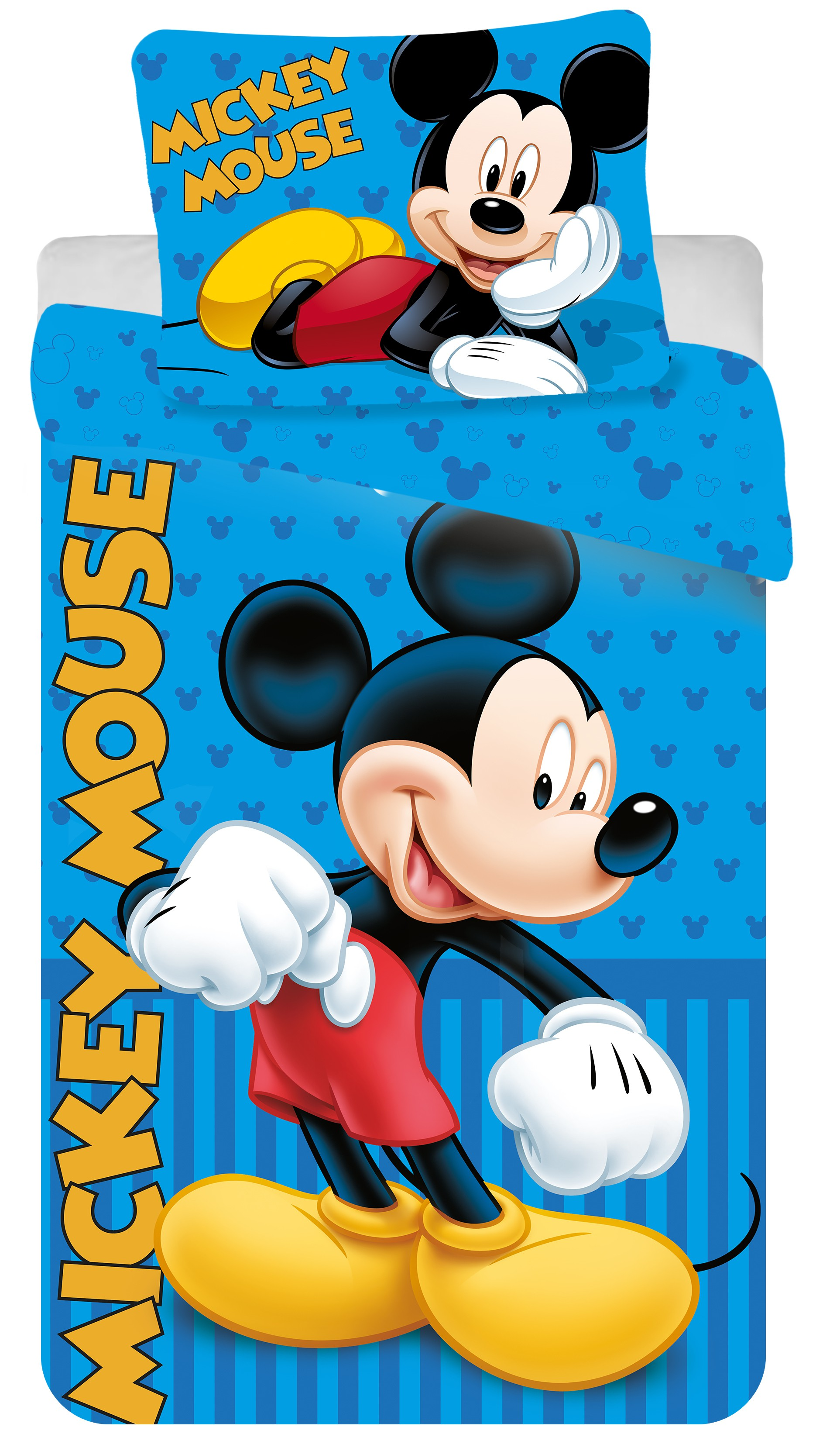 Dětské bavlněné povlečení Disney Mickey blue 2016