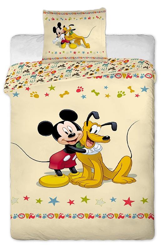 Dětské bavlněné povlečení Disney Mickey Pluto